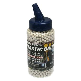 EAGLE FORCE プラスチックBB弾 0.25g 2000発 (6mm弾・ホワイト)#5378V2-25◆±0.01mmの超高精度!ボトル入りで充填ラクラク!