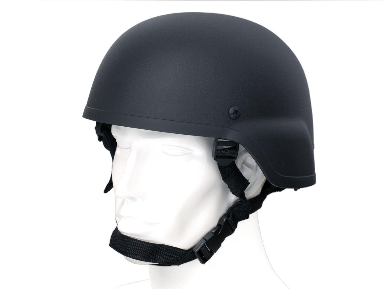 【驚愕のロープライス/カスタムベースや入門に】MICH2000タイプヘルメット(Thin ABS)/BK◆超軽量/SWAT装備に!サバゲー&コスプレに!