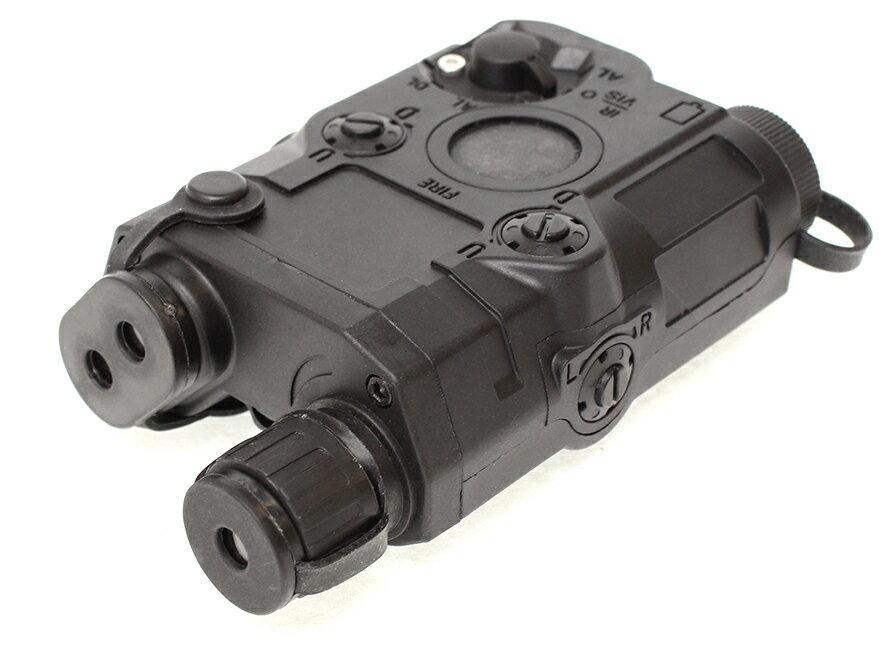 【リアルダミーモデル/バッテリーケースにも】BATTLE AXE AN/PEQ-15 ダミーケース/BK◆ABS樹脂製/ステッカー付属/米陸軍/海軍