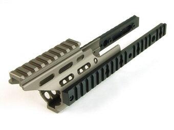 ライラクス NITRO.Vo SCAR-L/SCAR-H ハンドガードブースター ダークアース [エアガン/エアーガン]