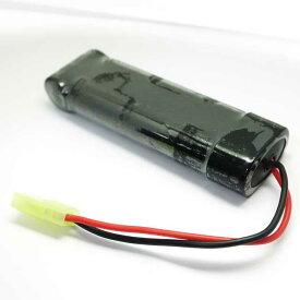 ミリタリーキングオリジナル 8.4V1300mAhニッケル水素バッテリー エアガン エアーガン