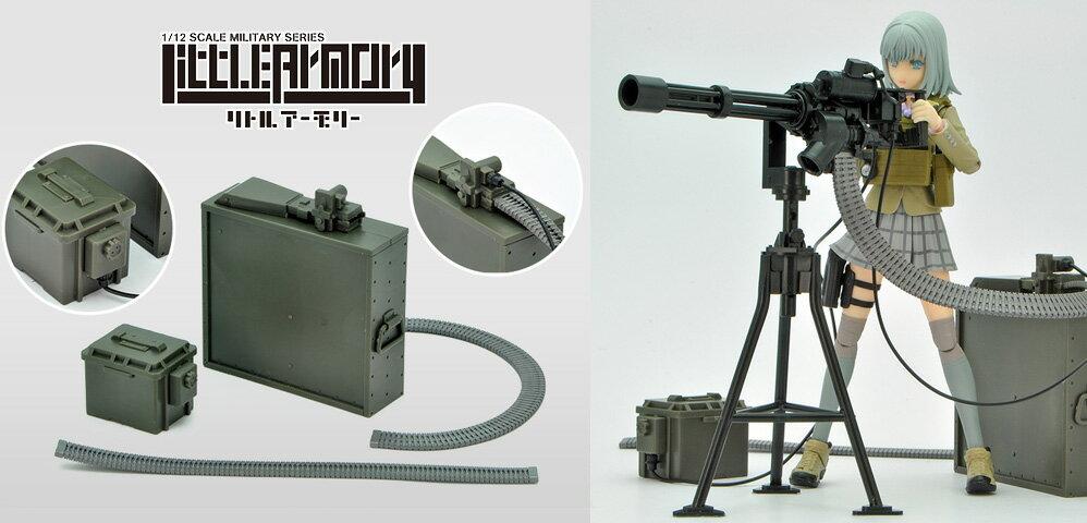 トミーテック LD012 LittleArmory M134ミニガンタイプ 設置型 [エアガン/エアーガン]