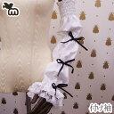 ロリータファッション用アクセサリー コスプレ用アクセサリー メイド フリーサイズ 生成り・ホワイト/白の2色 3段パフ・円形パフの2タ…