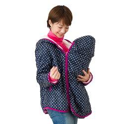 【ミルフェルム】ダッカー付きママブルゾンボア付き秋冬授乳服ML【授乳期終わってもオシャレ服として着られる【半額からさらに20%OFF】【AWFS】
