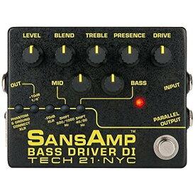 TECH21 SANSAMP BASS DRIVER DI V2 ベース専用ドライバー