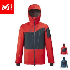 【公式】 ミレー (Millet) M ホワイト ゴアテックス 3L ジャケット M WHITE GORE-TEX MIV8510 / スキーウェア