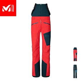 【公式】 ミレー (Millet) M ホワイト ゴアテックス 3L パンツ M WHITE GORE-TEX MIV8511 / スキーウェア