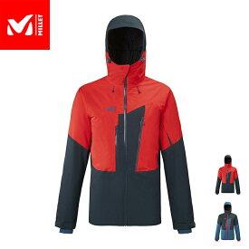 【公式】 ミレー (Millet) M ホワイト ウォーム 2L ジャケット M WHITE WARM 2L MIV8512 / スキーウェア