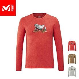 【公式】 ミレー (Millet) ボルダー ドリーム Tシャツ ロングスリーブ BOULDER DREAM MIV8543 あす楽