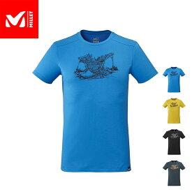 【公式】 ミレー (Millet) ウッド ウォール Tシャツ ショートスリーブ WOOD WALL MIV8545 あす楽