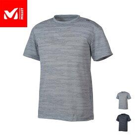【公式】 ミレー (Millet) M メッシュ クルー ショートスリーブ M MESH MIV01673 あす楽