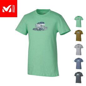 【公式】 ミレー (Millet) パック アンド ロード Tシャツ ショートスリーブ PACK & LOAD MIV8308 あす楽