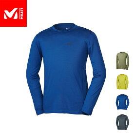【公式】 ミレー (Millet) クータイ ウール クルー ロングスリーブ KUHTAI WOOL MIV01667 / 登山用ベースレイヤー あす楽