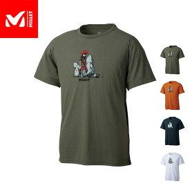 【公式】 ミレー (Millet) クラッカーマン Tシャツ ショートスリーブ MIV01855 あす楽