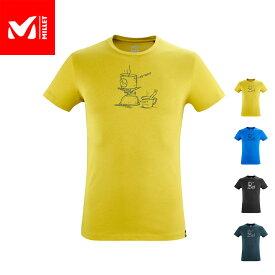 【公式】 ミレー (Millet) キャンプ Tシャツ ショートスリーブ MIV9039 あす楽