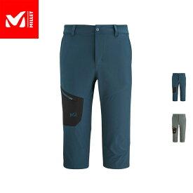 【公式】 ミレー (Millet) ワナカ ストレッチ 3/4 パンツ II MIV9062 あす楽