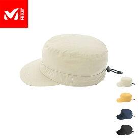 【公式】 ミレー (Millet) ティフォン 50000 ストレッチ レイン ワーク キャップ TYPHON MIV01540 / 帽子 あす楽