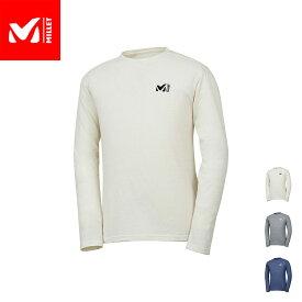 【公式】 ミレー (Millet) M ロゴ ASA Tシャツ ロング スリーブ M LOGO ASA MIV01768 あす楽