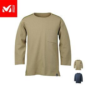 【公式】 ミレー (Millet) タフ ニット ロングスリーブ TOUGH KNIT MIV01804 / 登山用ベースレイヤー あす楽