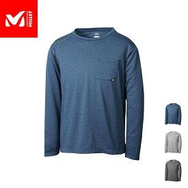 【公式】 ミレー (Millet) アイラ クルー ロングスリーブ EIRA MIV01809 / 登山用ベースレイヤー あす楽