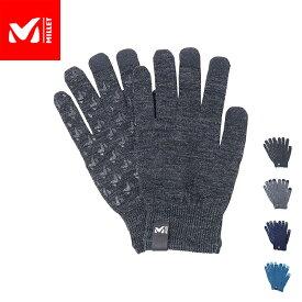 【公式】 ミレー (Millet) ウール インナー グローブ WOOL INNER GLOVE MIV01834 / 手袋 あす楽