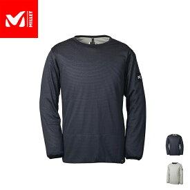 【公式】 ミレー (Millet) アルファ ライト スウェット クルー ALPHA LIGHT SWEAT MIV01836 / 中綿 スエット あす楽