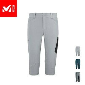 【公式】 ミレー (Millet) ワナカ ストレッチ 3/4 パンツ WANAKA MIV7708 / トレッキング パンツ あす楽