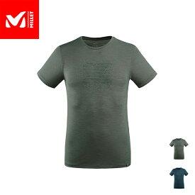 【公式】 ミレー (Millet) デンシティー ウール T-シャツ ショートスリーブ DENSITY WOOL MIV8633 あす楽
