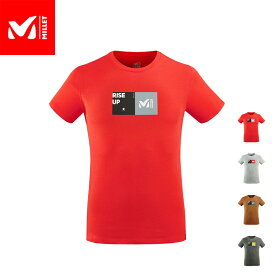 【公式】 ミレー (Millet) ミレー スクウェア Tシャツ ショートスリーブ MILLET SQUARE MIV8725 あす楽