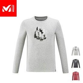 【公式】 ミレー (Millet) オーバーラップ Tシャツ ロングスリーブ OVERLAP MIV8847 あす楽