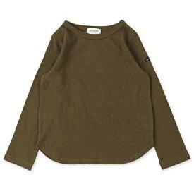 【quoti use fith クゥオティユースフィス クゥオーティーユース 】 16/- 天竺 長袖 Tシャツ 9KHカーキ