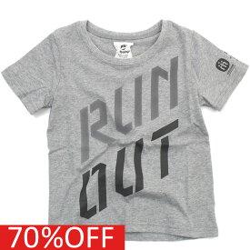 【ハイキング highking 子供服】 セール 【60%OFF】 run out short sleeve【EXCLUSIVE RELATION LINE】 グレーa194a