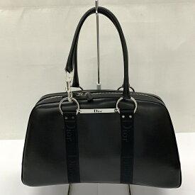 Christian Dior クリスチャン ディオールハードコア ガリアーノ ボストンバッグ ハンドバッグカラー:ブラック サイズ:F【中古品】【送料無料】【Dior】【かばん】【BAG】【クリスマス】【プレゼント】