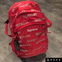 2016AWSupreme シュプリーム 3M Reflective Repeat Backpackスリーエム リフレクティブリピート バックパックRED レッ…