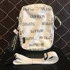 2016AW Supreme shupurimu 3M Reflective Repeat Shoulder Bag suriemurifurekutiburipitoshorudabaggu WHITE/白