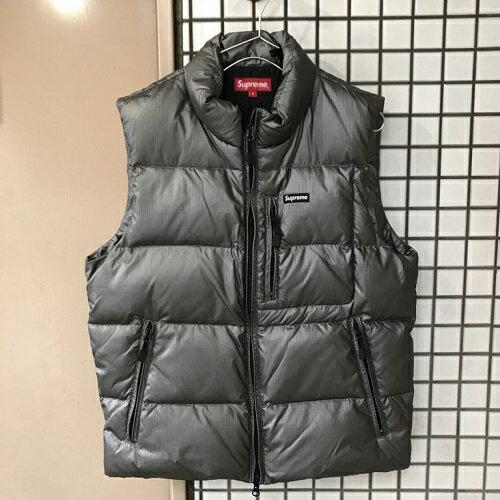 Supreme シュプリーム 13AW SKI vest ダウンベストサイズ:S銀【中古】【0309】【1803】