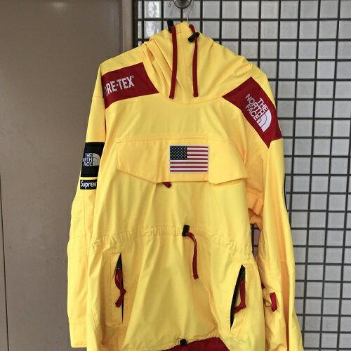 Supreme×The North Faceシュプリーム×ノースフェイス17SS Trans Antarctica Expedition Pulloverトランス アンタークティカ エクスペディションプルオーバーYELLOW/イエロー【中古】【送料無料】【0728】【1807】