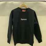 Supreme15AWBoxLogoCrewneckボックスロゴトレーナースウェットBlack:ブラックサイズ:M【中古品】【1902】【0207】【15AW】