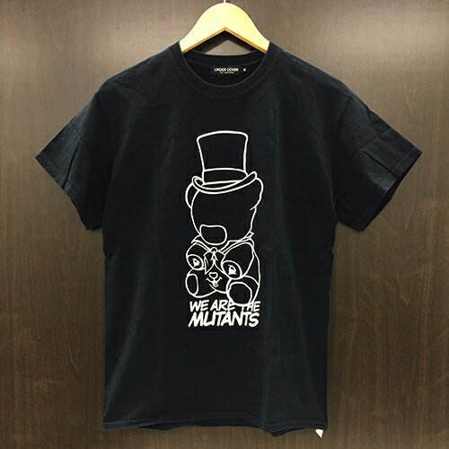 UNDERCOVER (アンダーカバー) W.A.T.M BEAR TEE(Tシャツ)400-006702-050 BLACK【中古】サイズ M【1708】【0929】