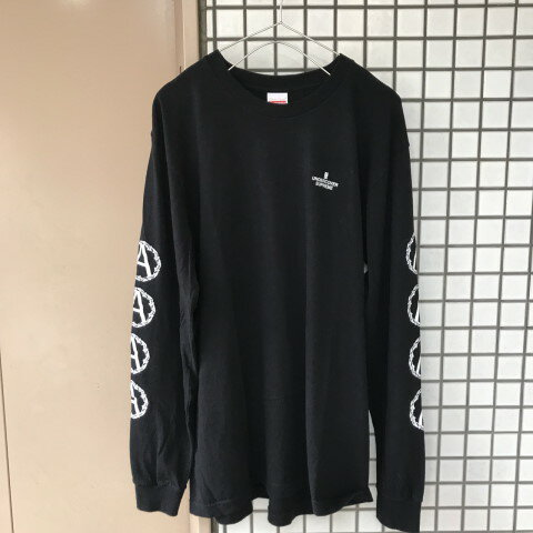 2016AW Supreme×UNDERCOVERAnarchy シュプリーム  Anarchy L/S Teeアナーキー ロンT【中古】