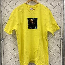 Supreme/シュプリーム18AW Marvin Gaye Teeマーヴィン ゲイフロントプリントカラー:イエローサイズ:XL【中古】【1906】【0627】【18AW】【フォトTee】