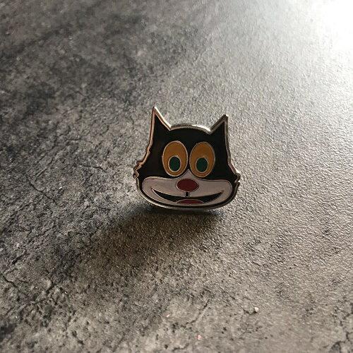 Supremeシュプリーム15AW Mad Cat Pin カラー:シルバー サイズ:FREE(約 2cm)【中古】【1808】【0818】