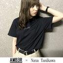 HATENAAMBER × Nana TanikawaTODAY Tee Tシャツブラック