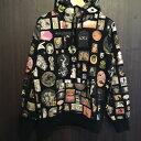 17SS Supreme シュプリームThrills Hooded Sweatshirtフーデット パーカーブラック サイズ【M】【未使用】【新古品】【中古】【送料無料】【0526】【1705】【楽天