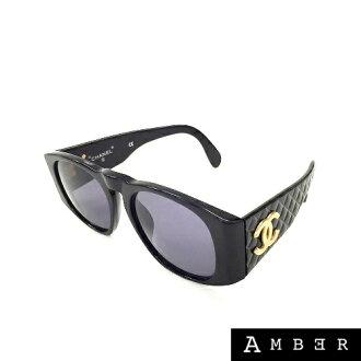 8863b34108 AMBER Rakuten Ichiba Shop  CHANEL Chanel matelasse sunglasses 01450 94305  black women s Coco mark