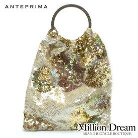 ANTEPRIMA アンテプリマビーズバッグ中古 ハンドバッグ ゴールド