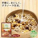 【国産二条大麦と国産スーパー大麦ビューファイバー配合!】大麦フルーツグラノーラ(国産スーパー大麦配合)×6箱セ…