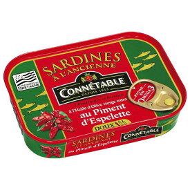 コネタブル オリーブオイルサーディン チリ風味 115g