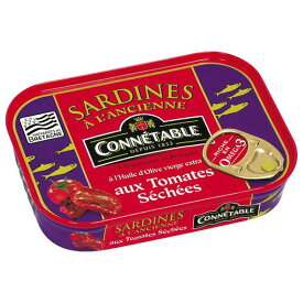 コネタブル オリーブオイルサーディン サンドライドトマト風味 115g