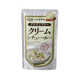 コスモ食品 グルテンフリー クリームシチュールー 110g【米粉使用/小麦不使用】[TY-J-K][T8]